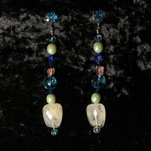 Handmade beaded earrings!